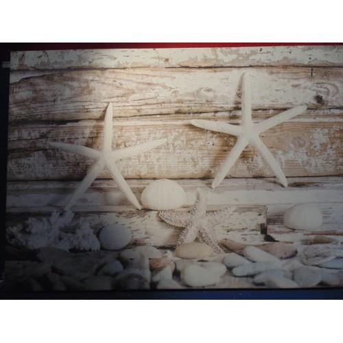 106 - Large canvas print of starfish...