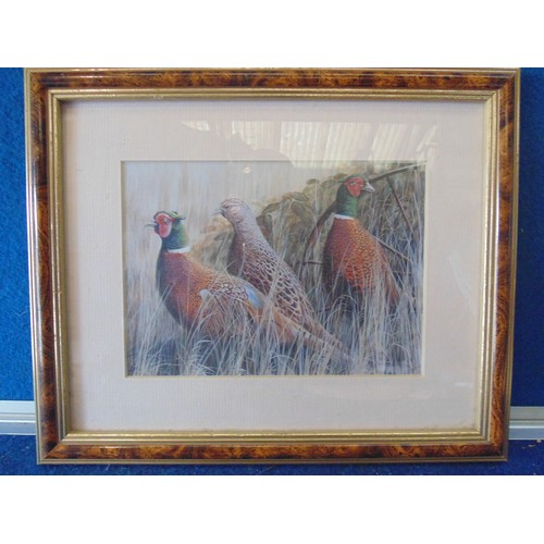 153 - Framed print of grouse....