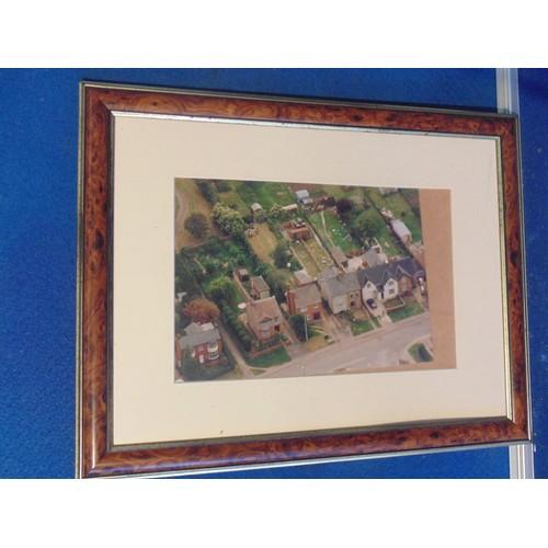 209 - Framed photograph of street...