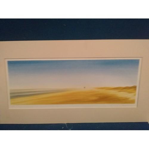 303 - Framed landscape print in mount limited edition 3/25 signed by KP Millard...
