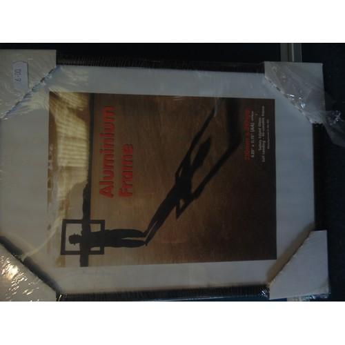 318 - A4 allimunium frame...