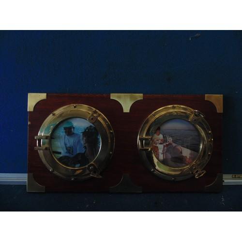 411 - Nortical photo plaque...