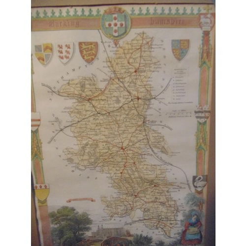 503 - Map of Hampshire...