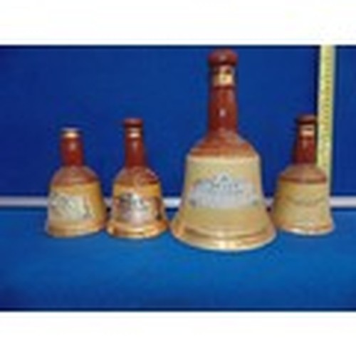 1006 - Collection of 4 Bells Old Scotch Whisky Bottles - Empty!...