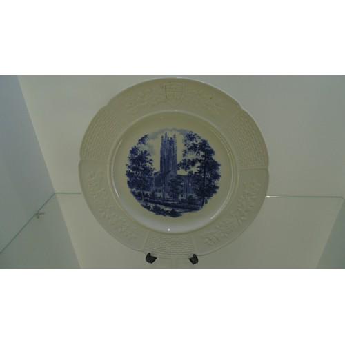 132 - Hetty H.R. Green hall wedgewood plate...