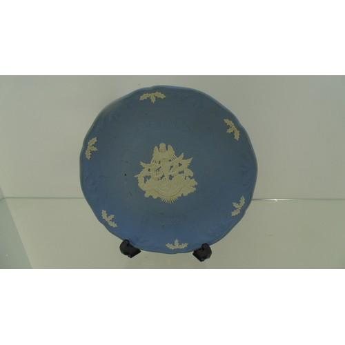 154 - Christmas 1991 wedgewood plate