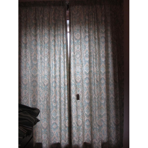 14 - Pair of curtains....