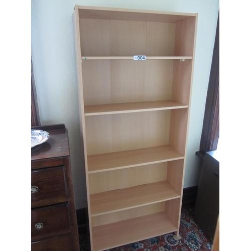 4 - Teak bookshelves. H:172cm, W:74cm, D:25cm....