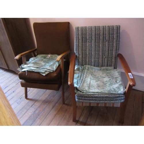 5 - 2 Fireside chairs....