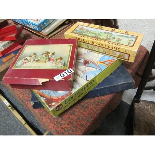 10 - 4 vintage games in original boxes....