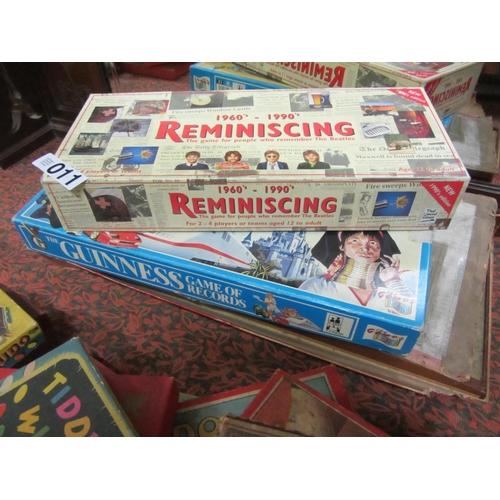 11 - 3 vintage games in original boxes....