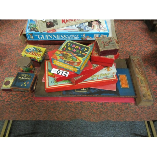 12 - lot of assorted vintage games in original boxes....