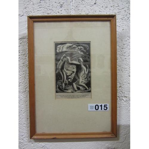 15 - Engraving - Gertrude Hermes....