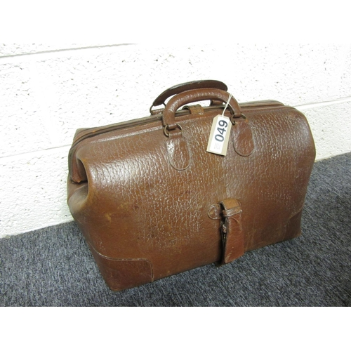 49 - Antique Gladstone bag....