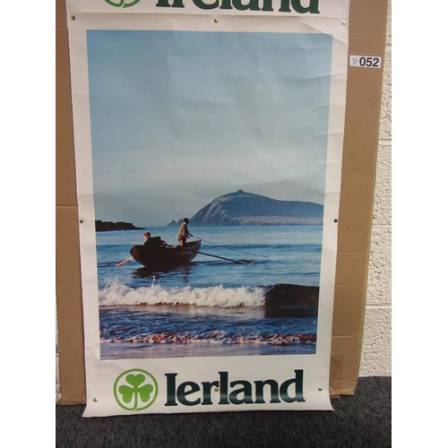 52 - Ireland poster with Shamrock....