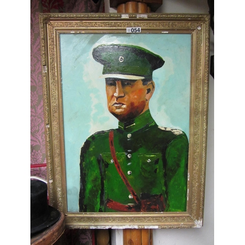54 - Large painting of Michael Collins....