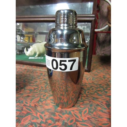 57 - Chrome cocktail shaker....
