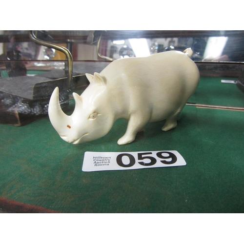 59 - Ivory Rhino....