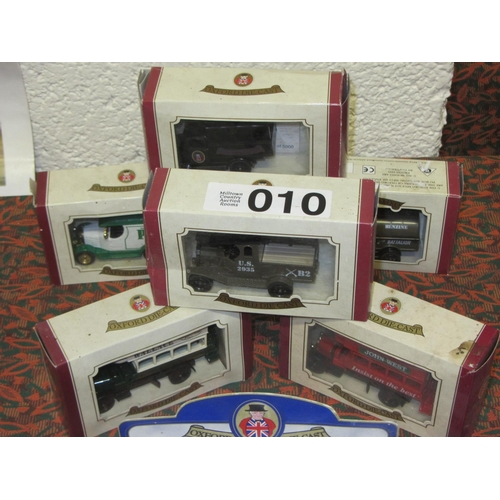 10 - 6 Oxford Die Cast model Trucks and Busses....