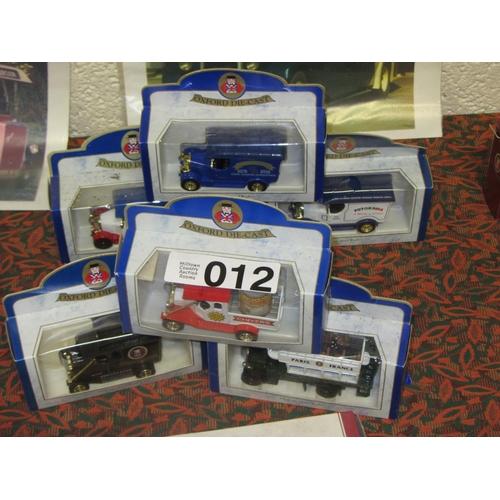 12 - 6 Oxford Die Cast model Trucks....