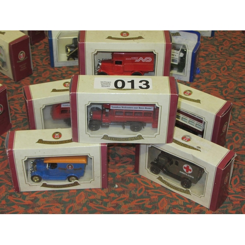 13 - 6 Oxford Die Cast model Trucks....