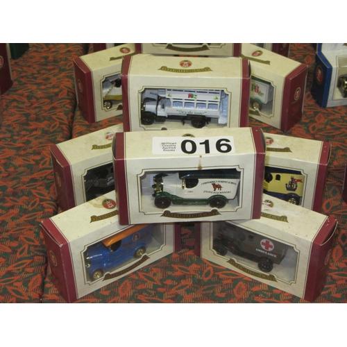 16 - 6 Oxford Die Cast model Trucks....