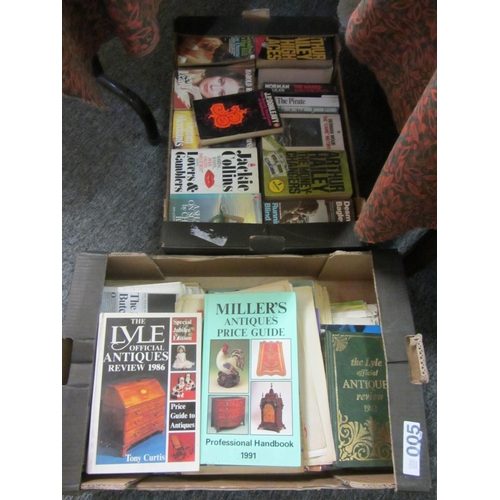 5 - 2 Boxes of interested books....