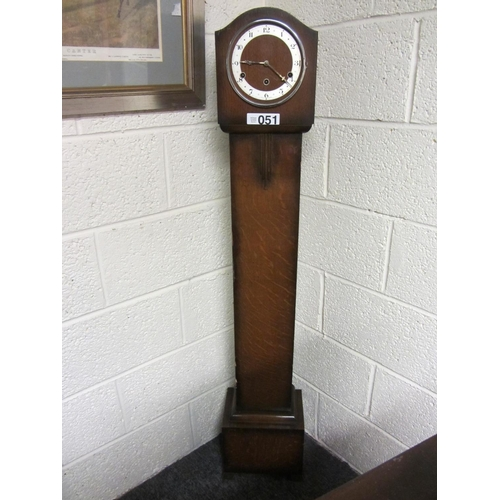 51 - Oak Grandaughter clock....