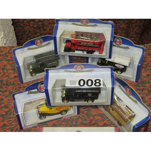 8 - 6 Oxford Die Cast model Trucks and Busses....