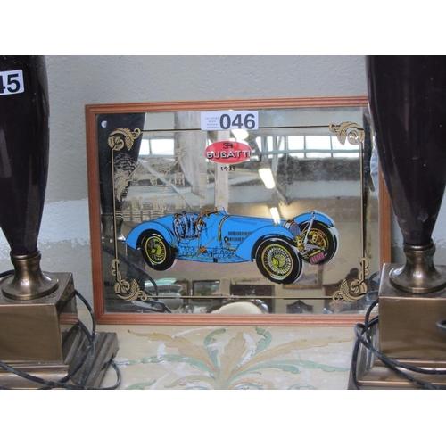 46 - Shop mirror - Bugatti....