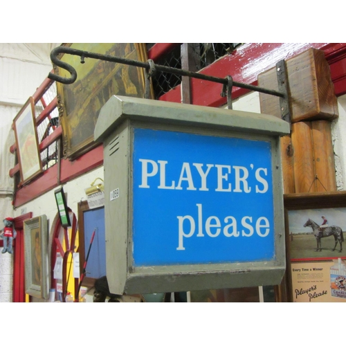 59 - Good Players Please double sided light up sign....