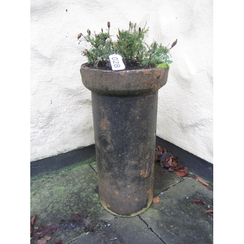 28 - Antique chimney pot/planter....