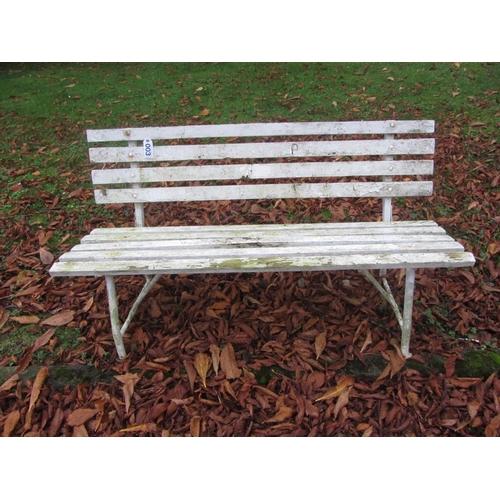 3 - Garden bench....