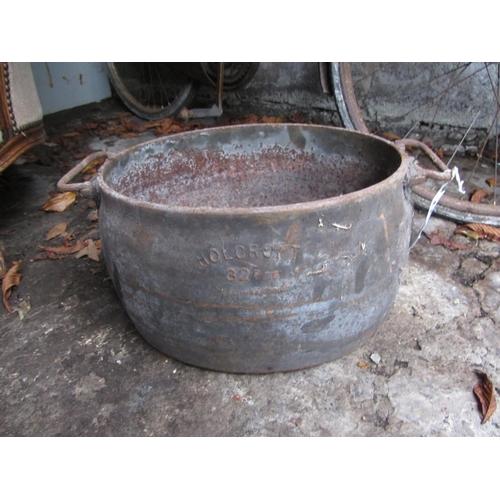 32 - Antique ham pot....
