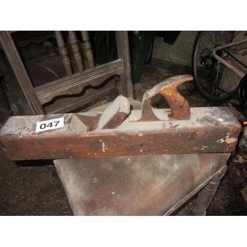 47 - Antique carpenters plane....