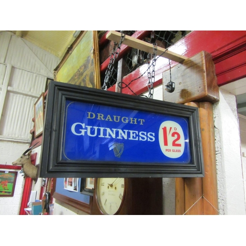 54 - Guinness double sided advertisement....