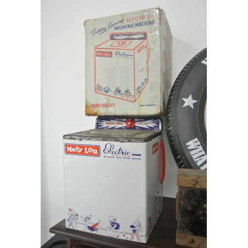 19 - A vintage/ retro Mary Lou/ Chad Valley electric washing machine, complete with original box....