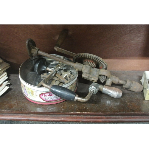 2 - An assortment of vintage tools, to include spanners & more....