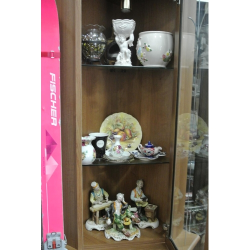 10 - The contents of the display cabinet...