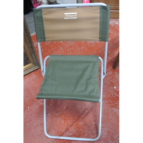 11 - A Shakespears folding fishing seat...