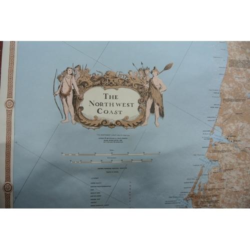 23 - A Northwest Coast map...