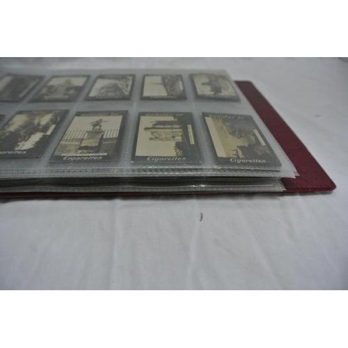 35 - A book of Irish Gallagher cigarette cards...
