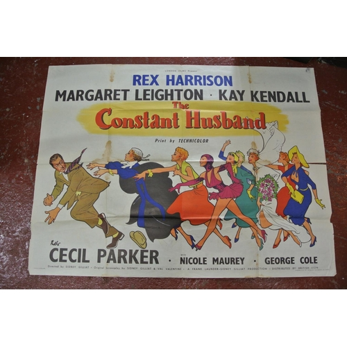 36 - The Constant Husband poster 1950's...