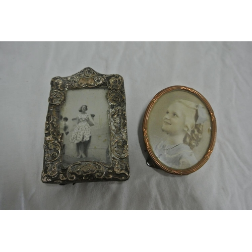 45 - Two miniature photo frames...