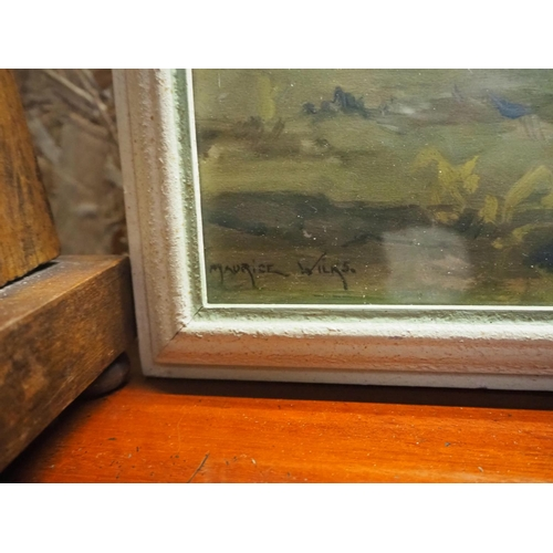 38 - A vintage framed print by Vernon Ward....