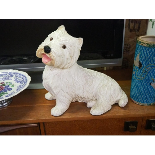 47 - A Scottish Terrier figure....