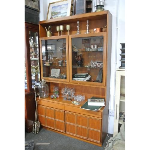 8 - A vintage/ retro McIntosh sideboard/ display cabinet....