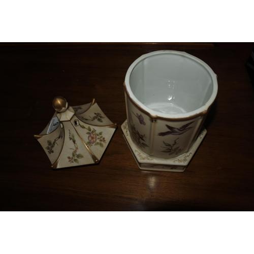 9 - A decorative lantern.