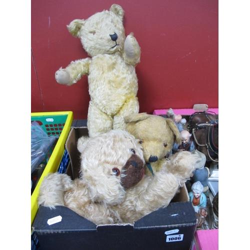 1006 - Vintage Teddy Bear etc:- One Box...
