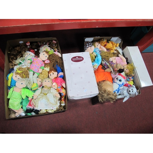 1030 - Ty Beanies, Pico, Ashton Drake and Other Dolls and Soft Toys....